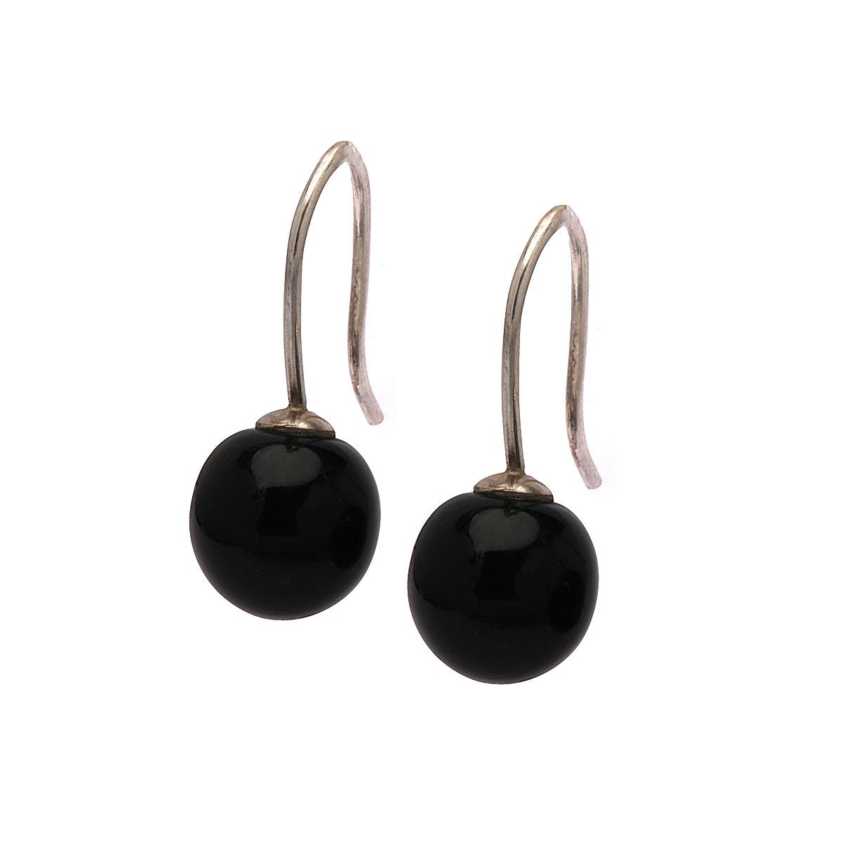 Klassisk perle øreringe m. ørehænger